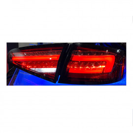 Audi A4 4D Look Tail Light with Sequential Red