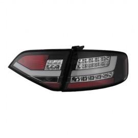 Audi A4 4D Black Lens Tail Light