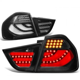 BMW 3 SERIES E90 FACELIFT LED TAIL LIGHT SMOKE