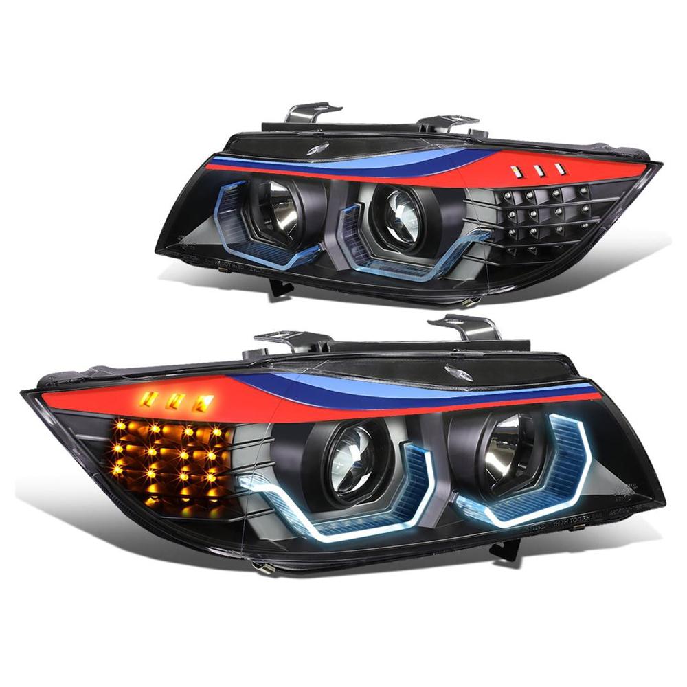 BMW 3 Series E90 M Color 4D Head Light