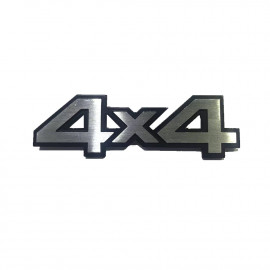 Car Logo 4x4 Chrome