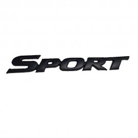 Car Logo Sports Medium Black