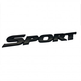 Car Logo Sports V1 Black