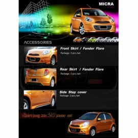 Nissan Micra Sport Body Kit with fender flare