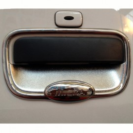 Nissan Micra Chrome Tail Gate Cover