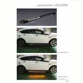 Universal Running Board LED White by Mobile App 1820MM