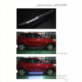 Universal Running Board LED Blue by Mobile App 1900MM